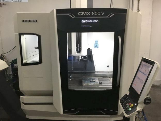 DMG MORI CMX 800 V - 1