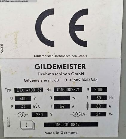 GILDEMEISTER CTX 400 S2 V3 - 7