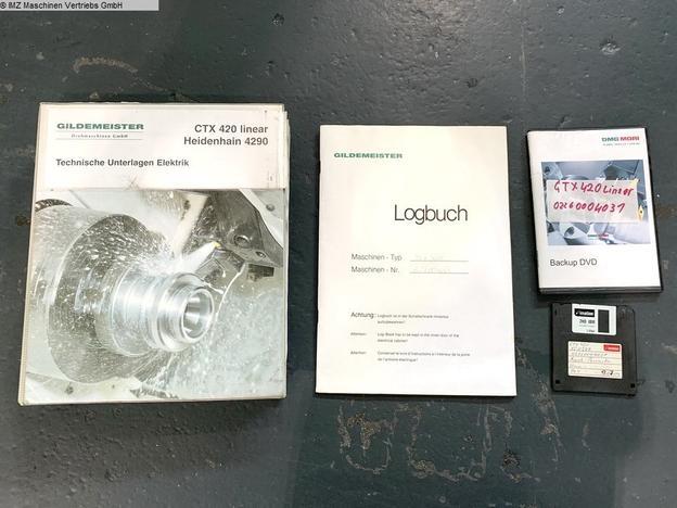 GILDEMEISTER CTX 420 linear V6 - 10