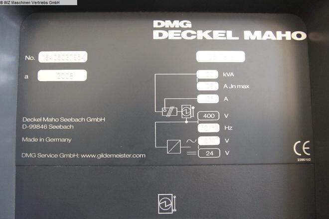 DMG MORI DMC 635 V - 10