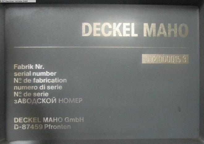 DECKEL MAHO DMU 80 T - 6